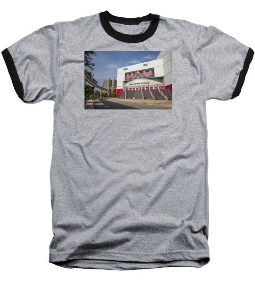 Joe Louis Arena Detroit  Baseball T-Shirt