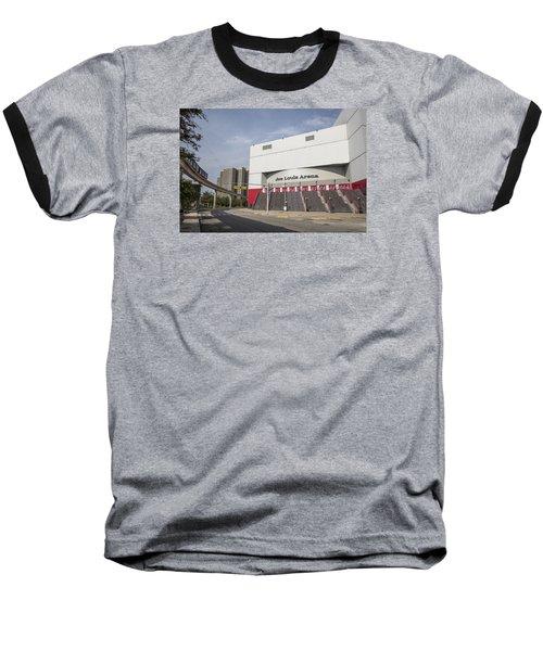 Joe Louis Arena  Baseball T-Shirt