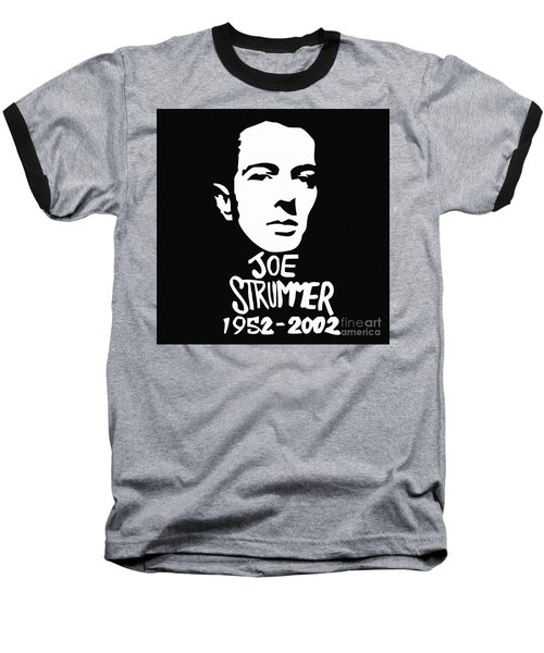 Joe Strummer Baseball T-Shirt