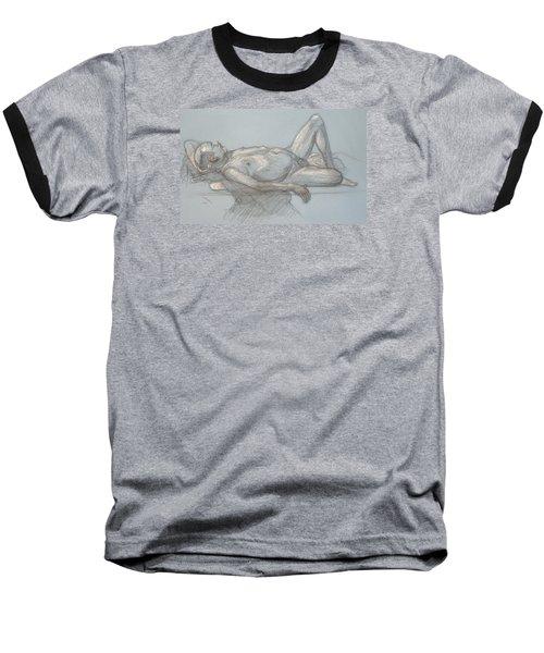 Joey Reclining #1 Baseball T-Shirt