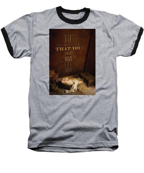 John 10 Baseball T-Shirt