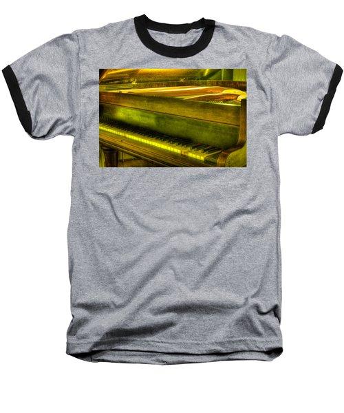 John Broadwood And Sons Piano Baseball T-Shirt by Semmick Photo