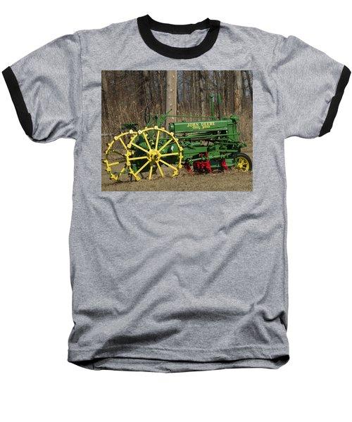 John Deer Tractor Baseball T-Shirt