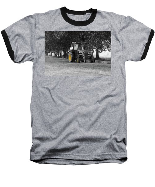 John Deere 620 In Selective Color Baseball T-Shirt