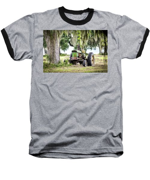 John Deere - Hay Day Baseball T-Shirt by Scott Hansen