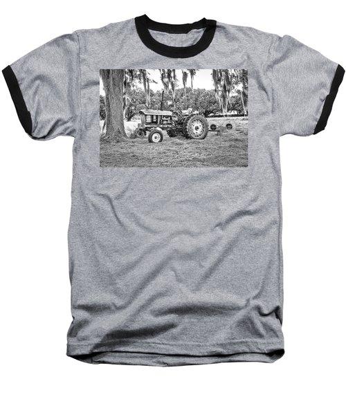 John Deere - Hay Rake Baseball T-Shirt