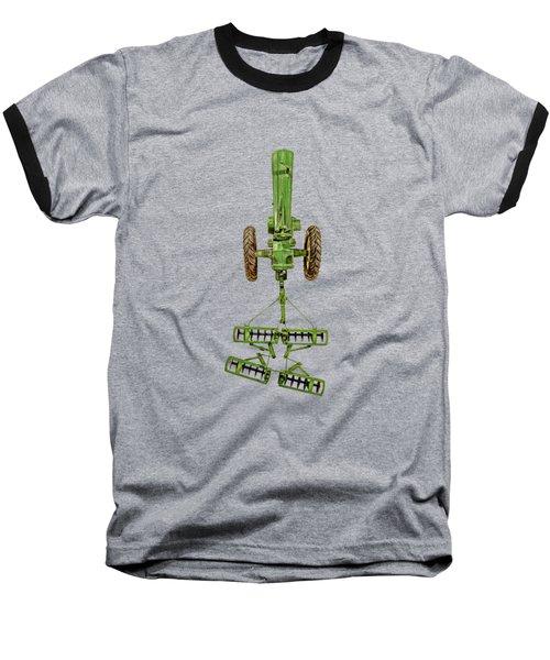 John Deere Tractor Harrow Baseball T-Shirt