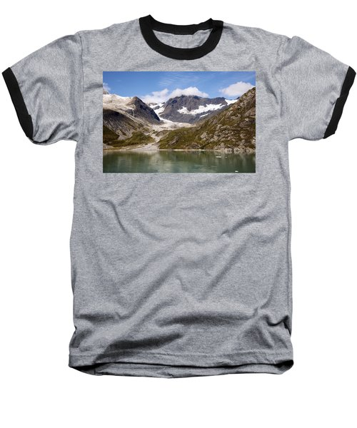 John Hopkins Glacier 5 Baseball T-Shirt by Richard J Cassato