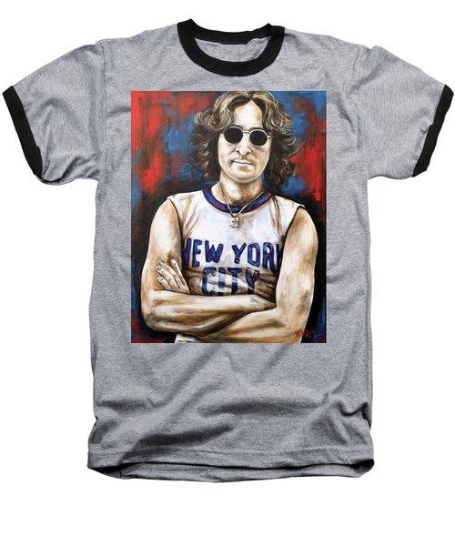 John Lennon Baseball T-Shirt