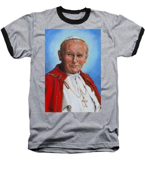 John Paul II Baseball T-Shirt