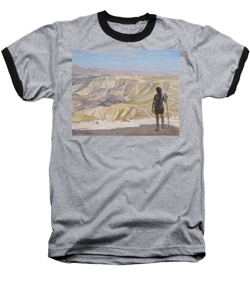 John The Baptist In The Desert Baseball T-Shirt