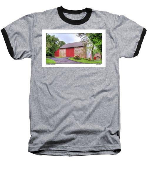 John Updike's Childhood Barn Baseball T-Shirt by R Thomas Berner