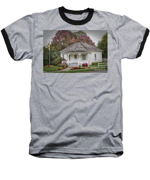 John Wayne Birthplace Baseball T-Shirt by Lynn Sprowl