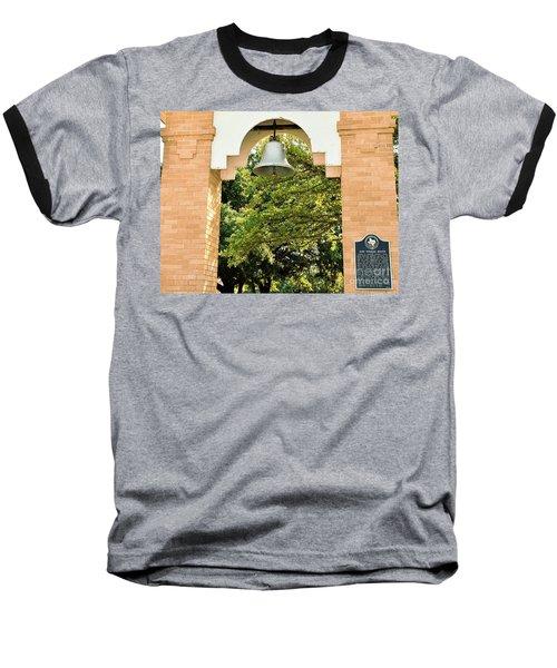 Baseball T-Shirt featuring the photograph John Wheeler Bunton Historic Memorial by Ray Shrewsberry