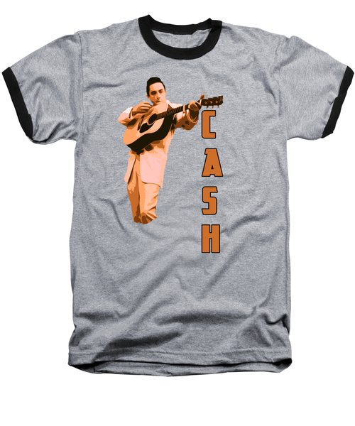 Johnny Cash The Legend Baseball T-Shirt