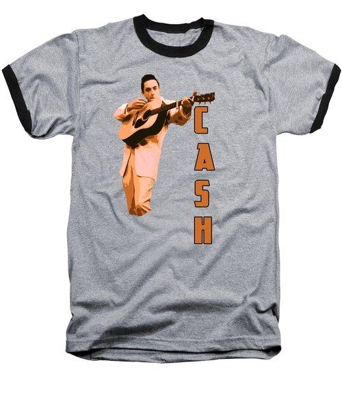 Johnny Cash The Legend Baseball T-Shirt