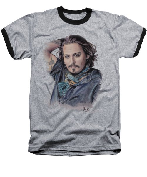 Johnny Depp Baseball T-Shirt