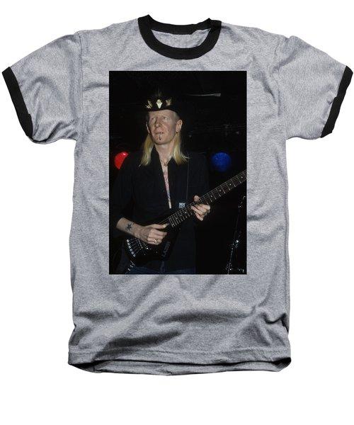 Johnny Winter Baseball T-Shirt