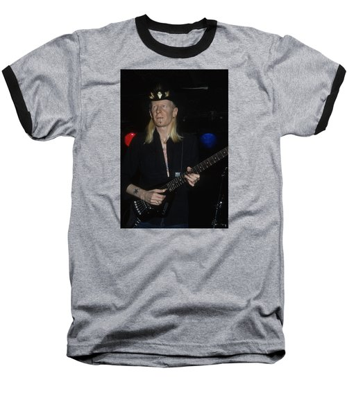 Johnny Winter Baseball T-Shirt