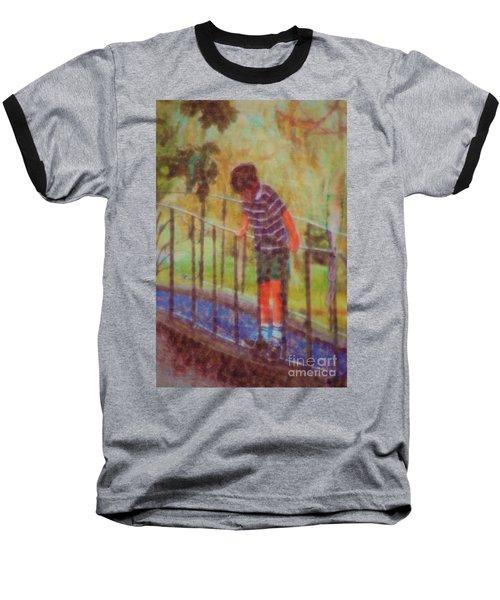 John's Reflection Baseball T-Shirt