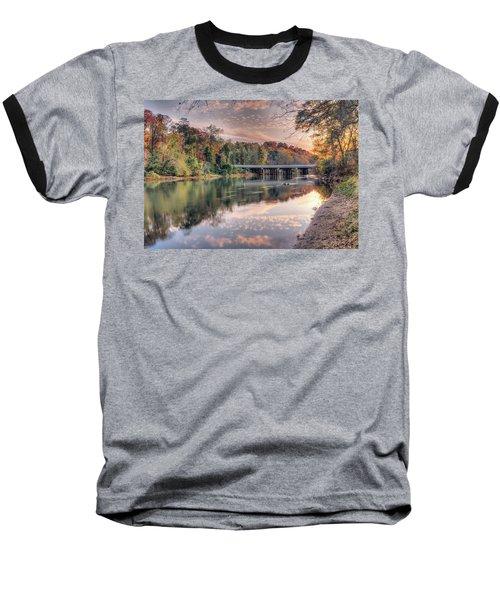 Johnson Ferry Bridge Baseball T-Shirt