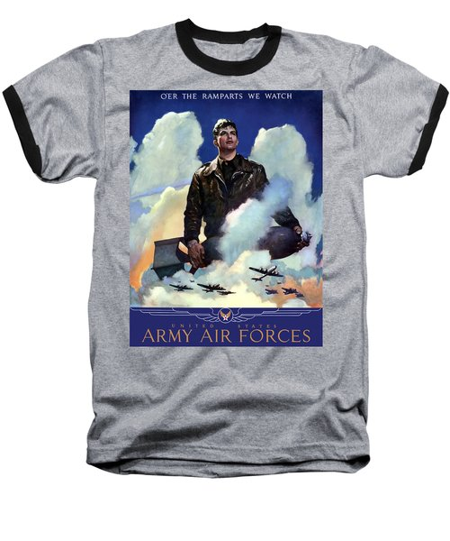 Join The Army Air Forces Baseball T-Shirt