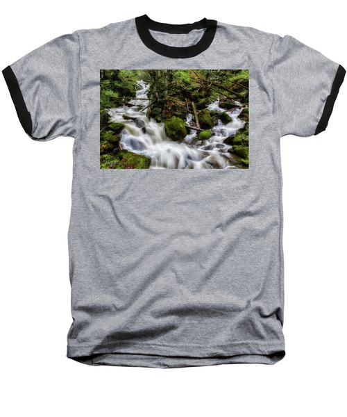Joining Forces Baseball T-Shirt by Charlie Duncan