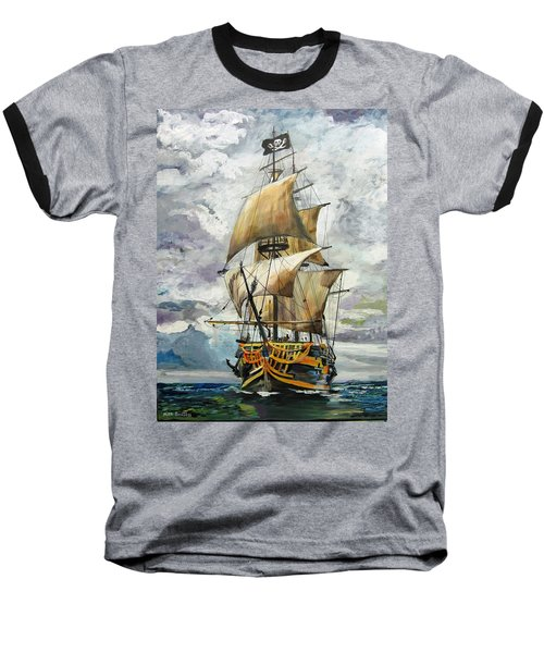 Jolly Roger Baseball T-Shirt