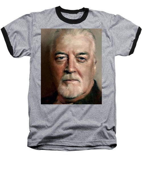 Jon Lord Deep Purple Portrait 8 Baseball T-Shirt