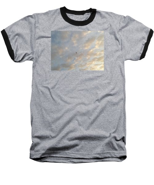 Jonathan Livingston Seagull Baseball T-Shirt by LeeAnn Kendall