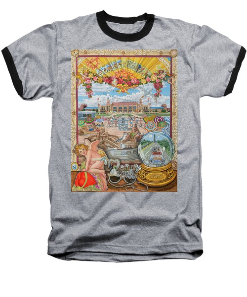 Jones Beach Love Story Baseball T-Shirt