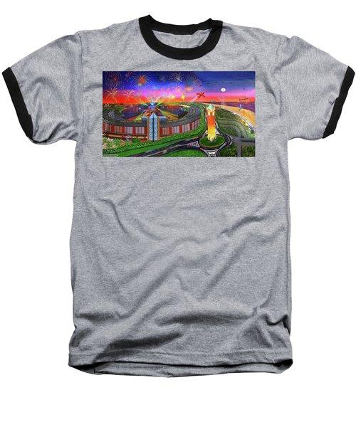 Jones Beach Theatre Baseball T-Shirt