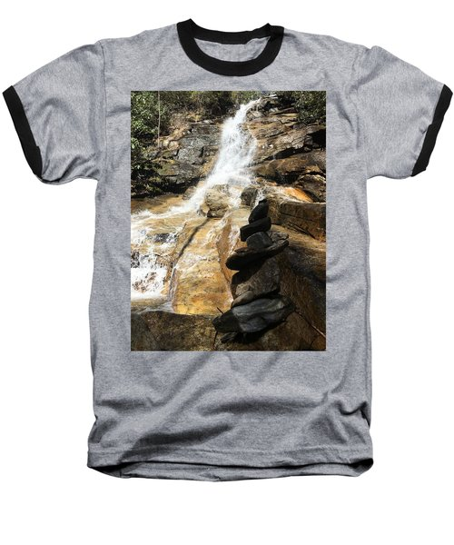 Jones Gap Falls  Baseball T-Shirt by Kelly Hazel