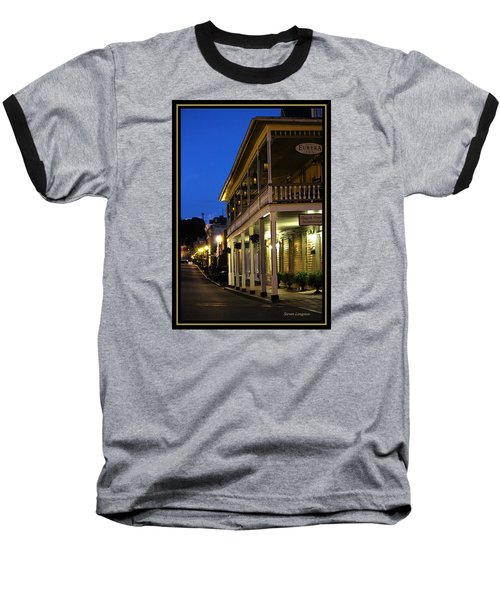 Baseball T-Shirt featuring the painting Jonesborough Tennessee 12 by Steven Lebron Langston