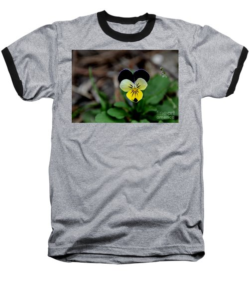 Jonny Jump Up - Relative To A Pansy Baseball T-Shirt