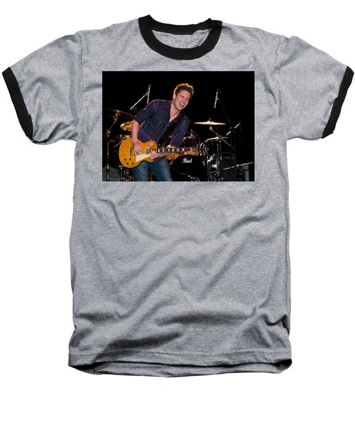 Jonny Lang Rocks His 1958 Les Paul Gibson Guitar Baseball T-Shirt