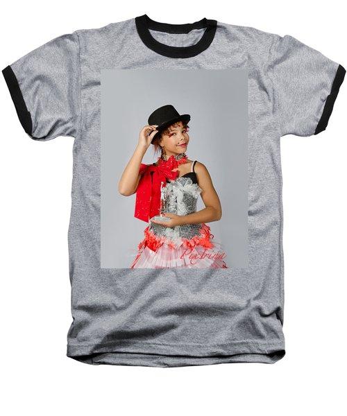 Jordan In Plastic Cup Can Can Dress Baseball T-Shirt