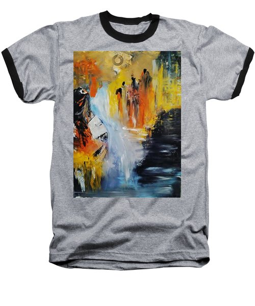 Jordan River Baseball T-Shirt by Kelly Turner