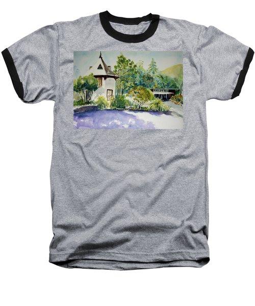 Jose Moya Del Pino Library At Marin Arts And Garden Center Baseball T-Shirt by Tom Simmons