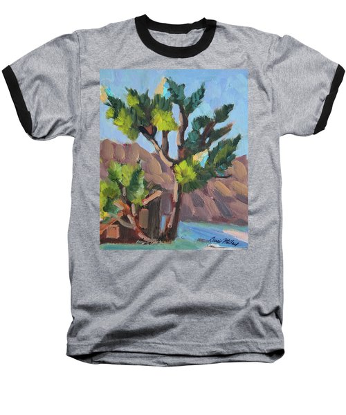 Baseball T-Shirt featuring the painting Joshua At Keys Ranch by Diane McClary