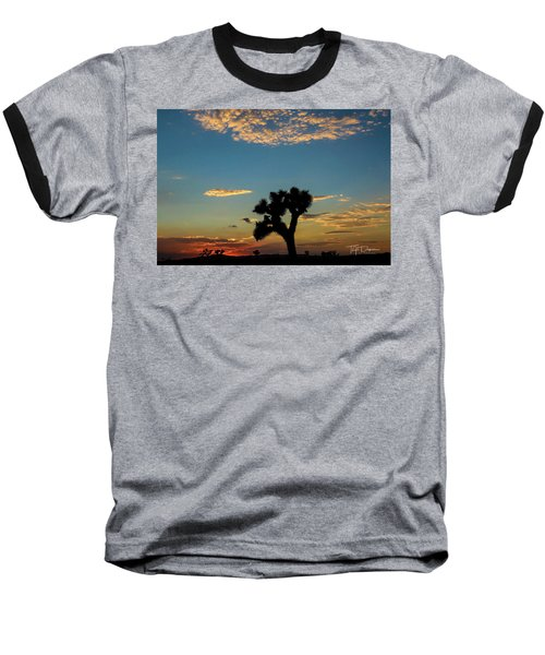 Joshua Sunset Baseball T-Shirt