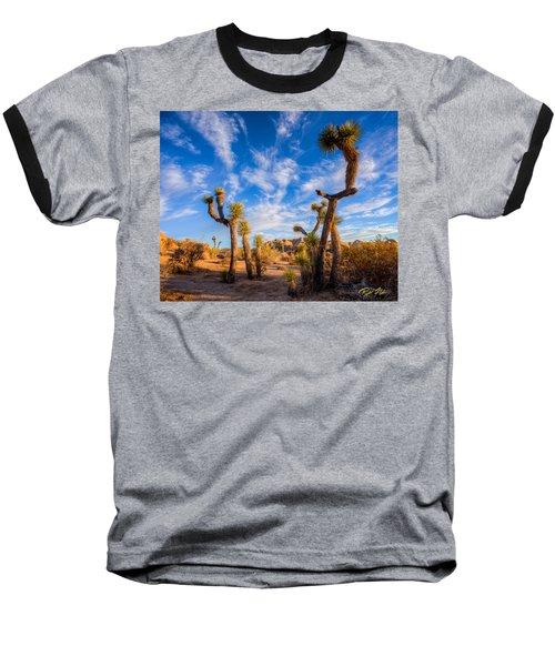 Joshua Tree Dawn Baseball T-Shirt