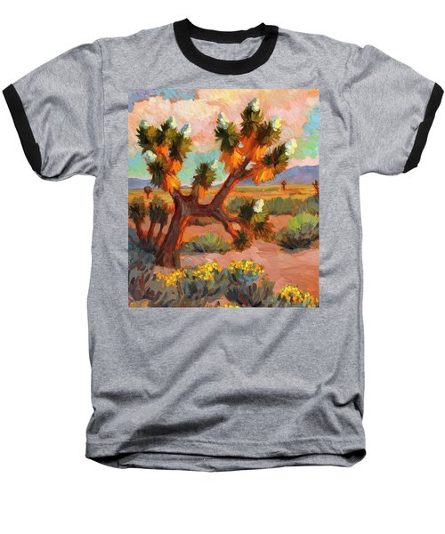 Joshua Tree Baseball T-Shirt by Diane McClary