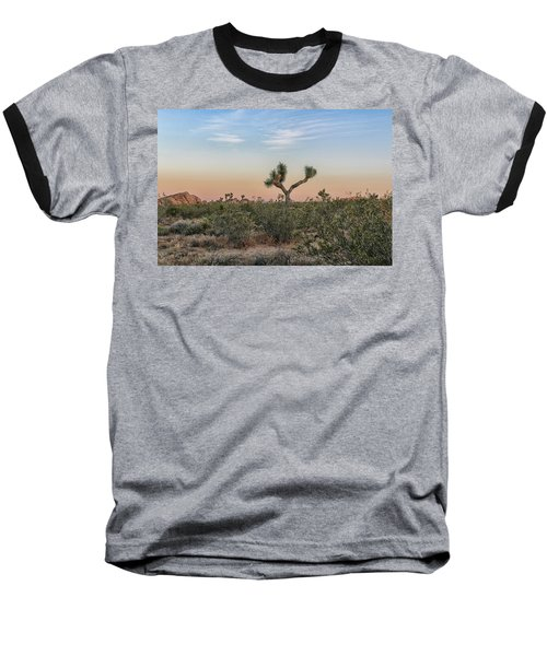Joshua Tree Evening Baseball T-Shirt