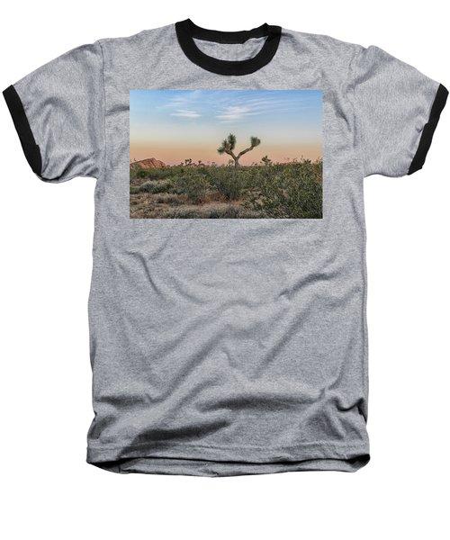 Joshua Tree Evening Baseball T-Shirt
