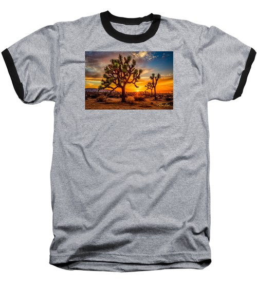 Joshua Tree Glow Baseball T-Shirt