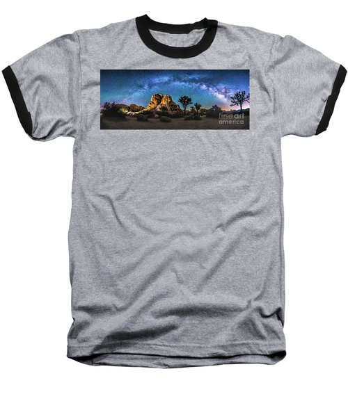Joshua Tree Milkyway Baseball T-Shirt
