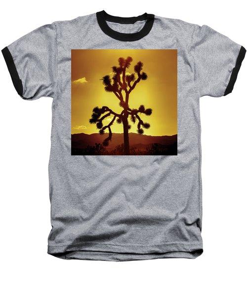 Baseball T-Shirt featuring the photograph Joshua Tree by Stephen Stookey