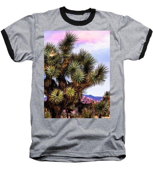 Joshua Tree Sunset Baseball T-Shirt