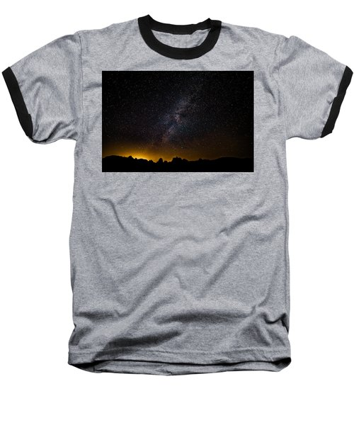 Joshua Tree's Fiery Sky Baseball T-Shirt